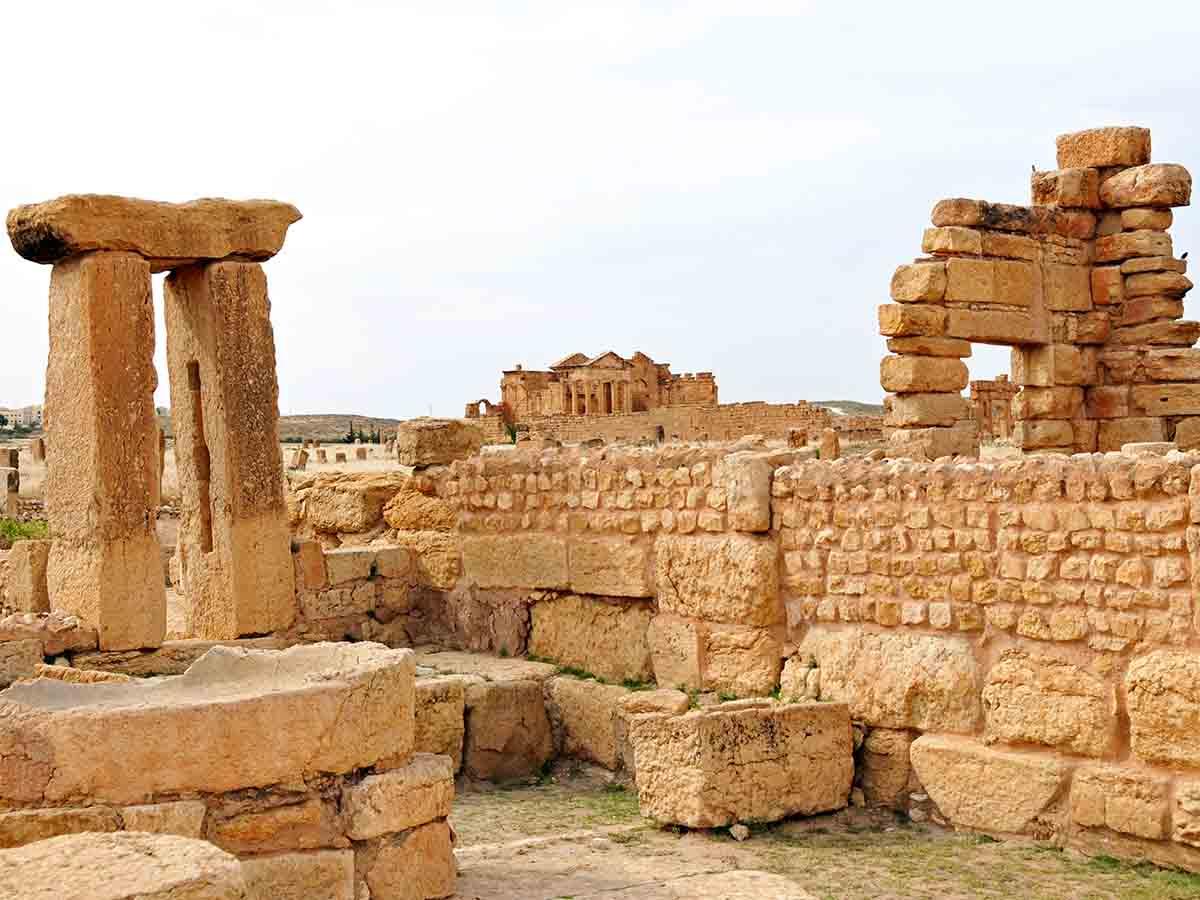 Olive Press Ruins at Sbeitla