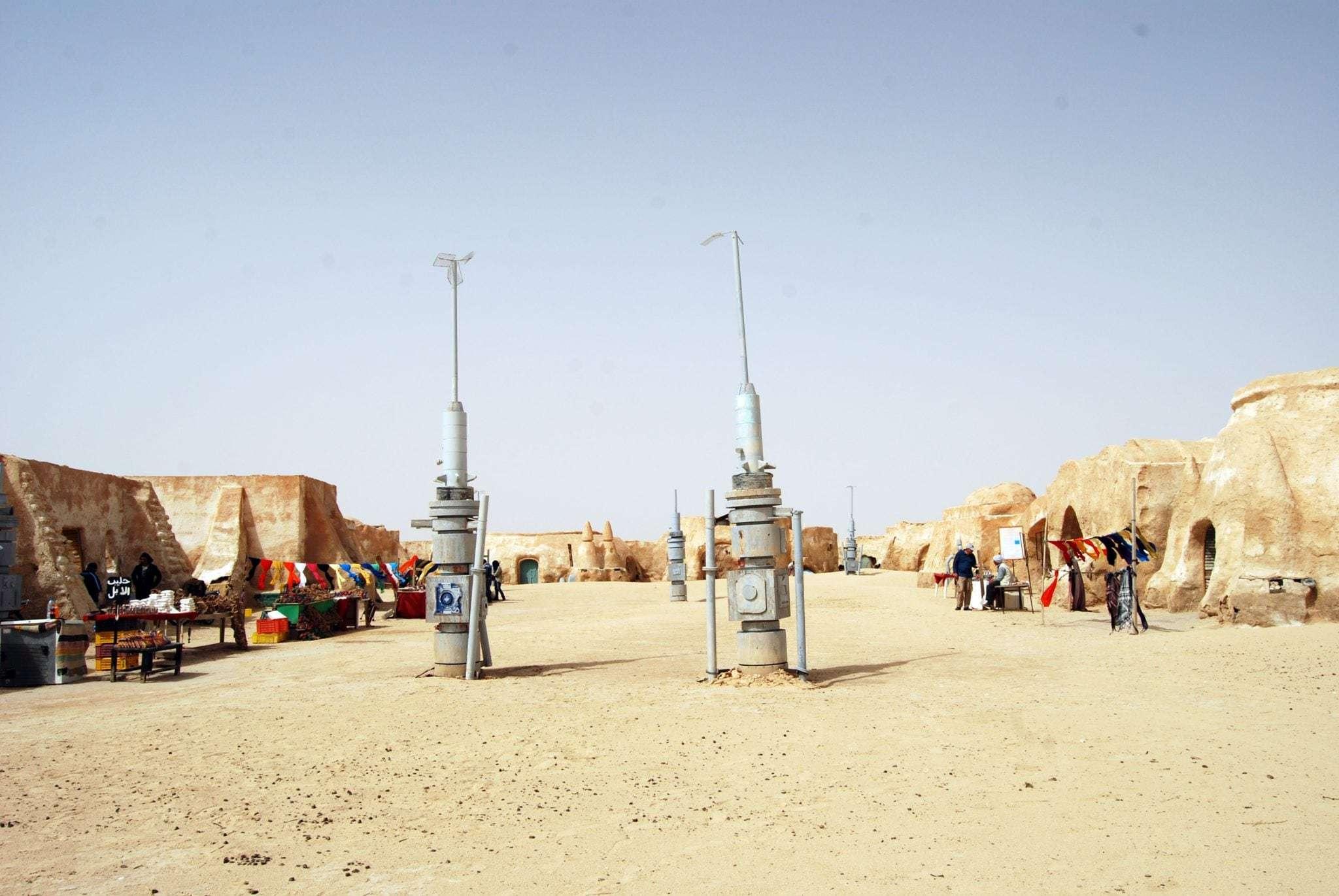 Star Wars Mos Espa in Nefta