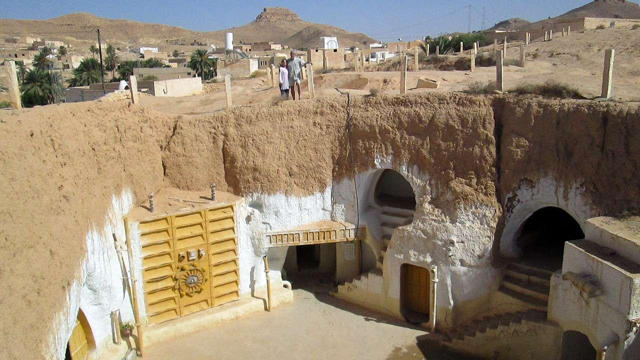 Star Wars Lars Homestead Interior in Matmata
