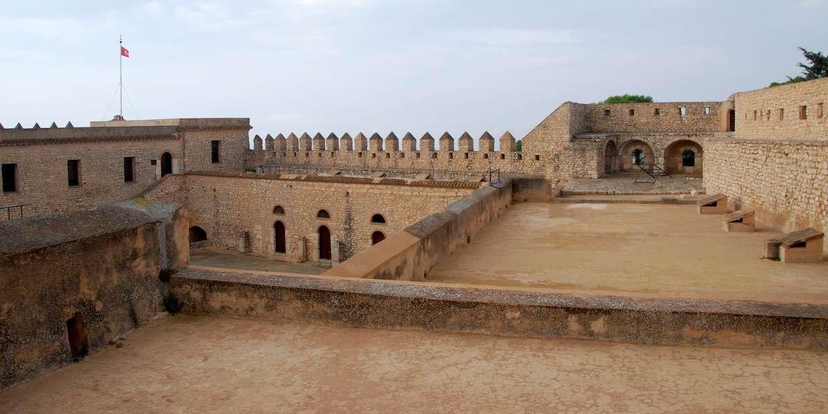 Walls at El Kef