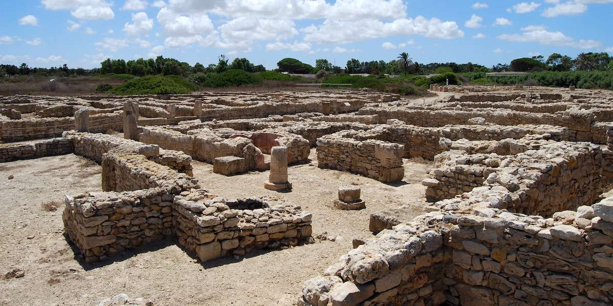 UNESCO World Heritage Site of Kerkouane