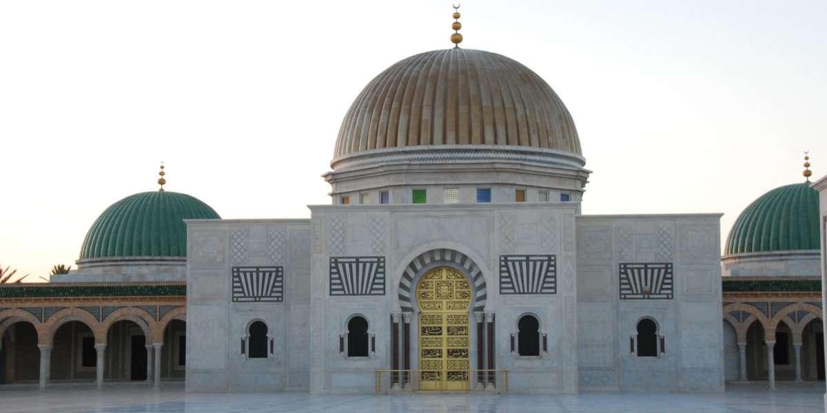 Mausoleum of President Bourguiba in Monastir