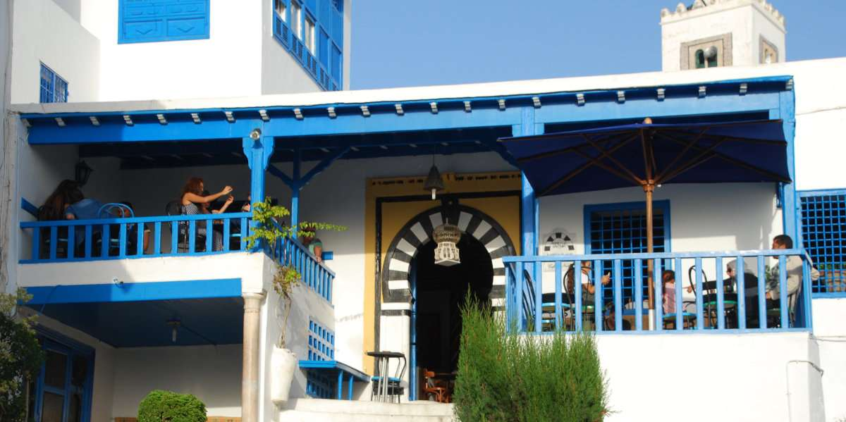 Cafe at Sidi Bou Said