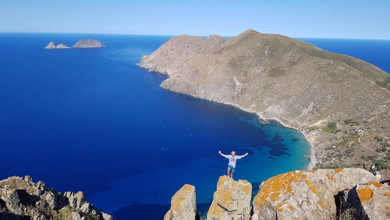 Rock Climbing at Jalta Island