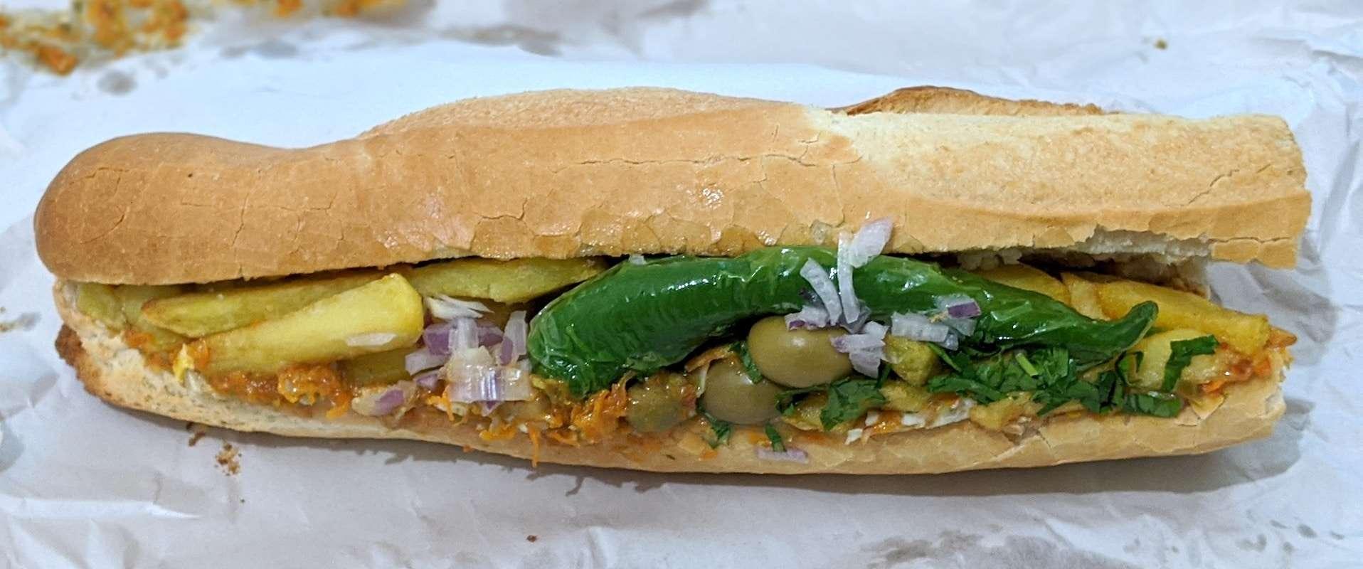 Kaftheji sandwich