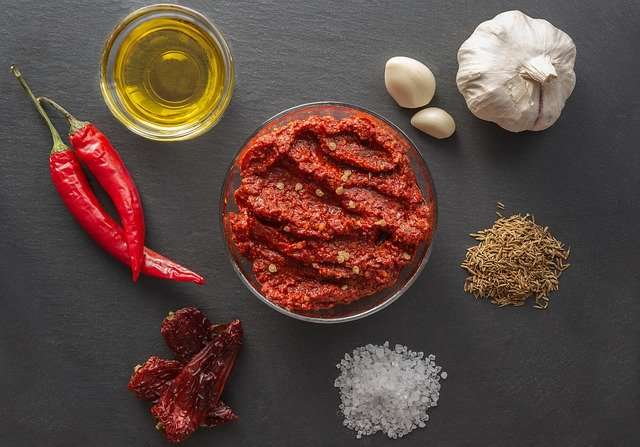 Tunisian Harissa Hot Pepper Paste