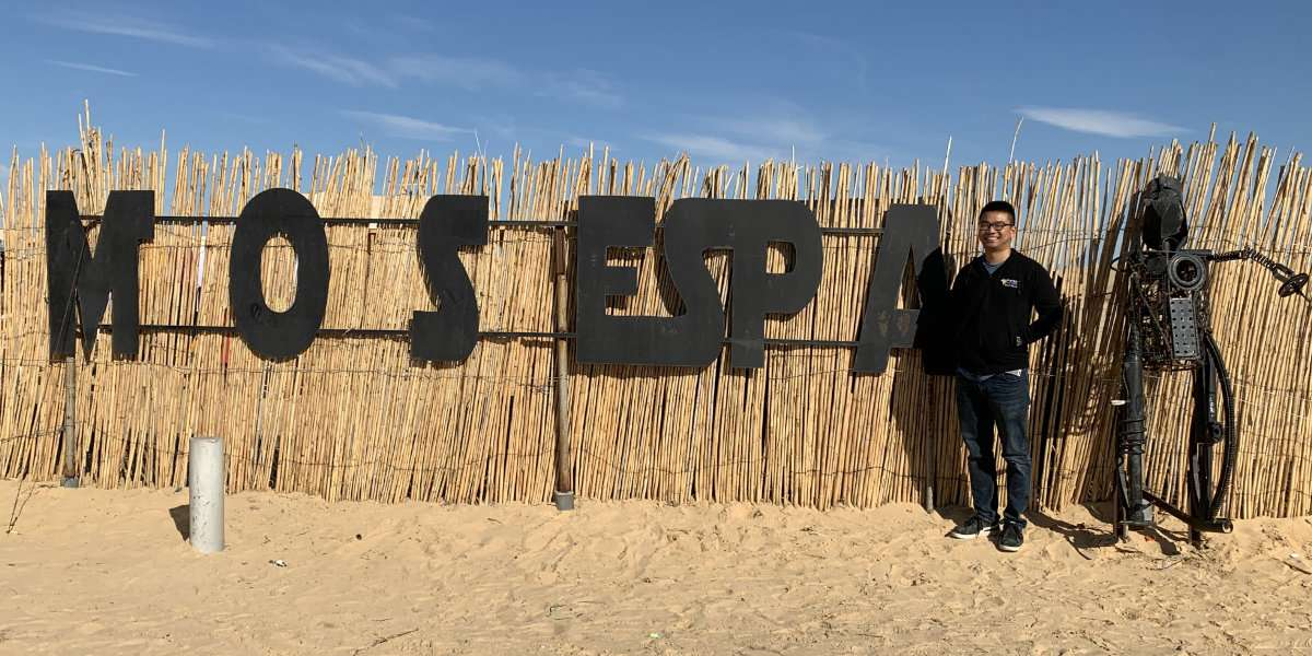 Ivan next to Mos Espa entrance